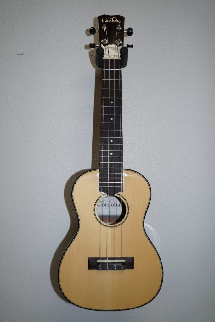 Cordoba 22C Concert Ukulele in Natural Gloss with Rosewood Body