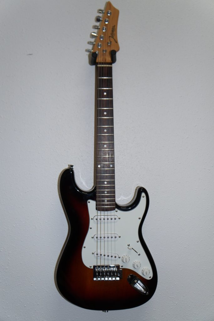 Johnson Strat-Style Electric Guitar in Vintage Tobacco Burst: Like New