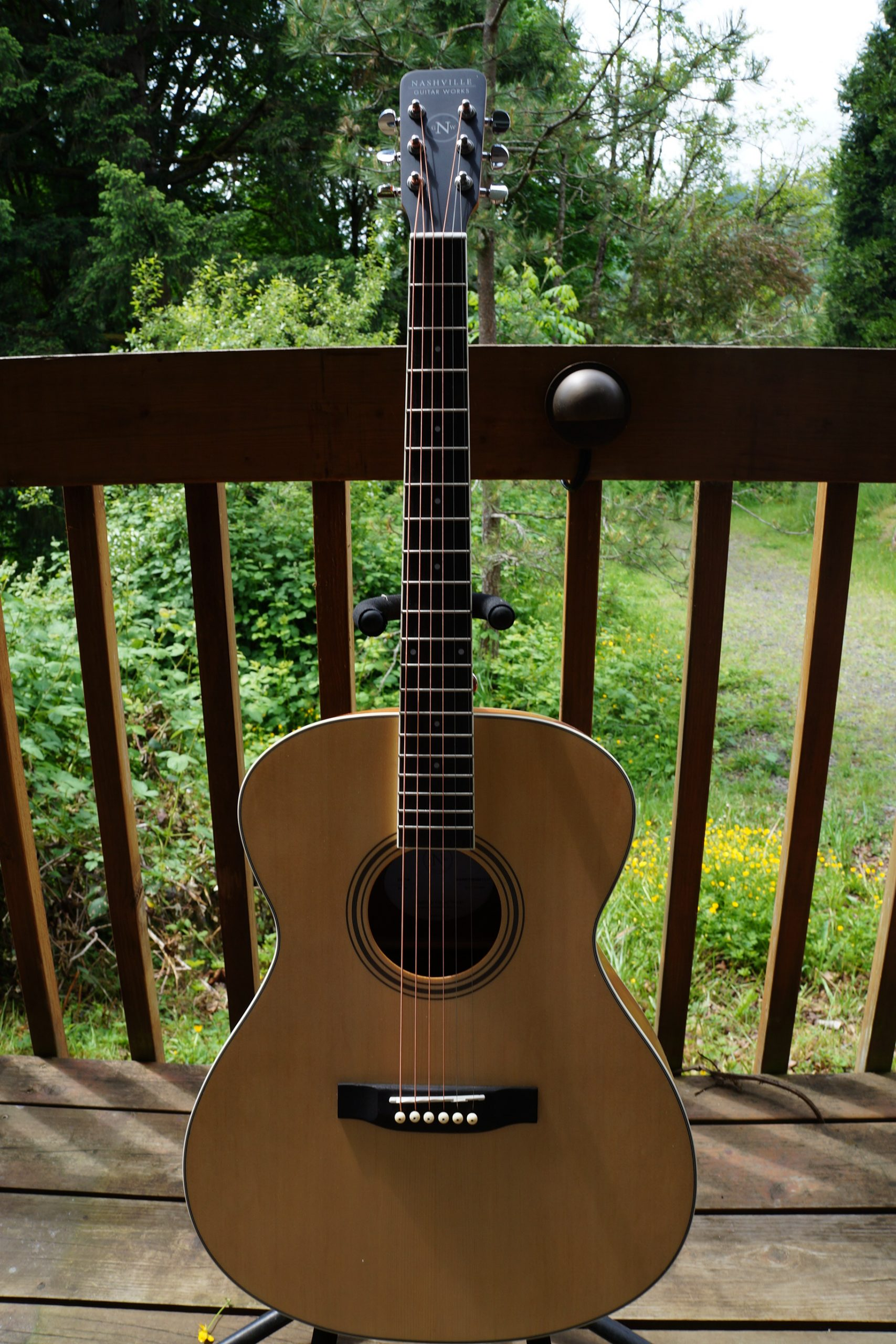 Nashville Guitar Works Dreadnaught Acoustic Guitar: Natural Satin Finish (NEW) w/ Accessory Pack