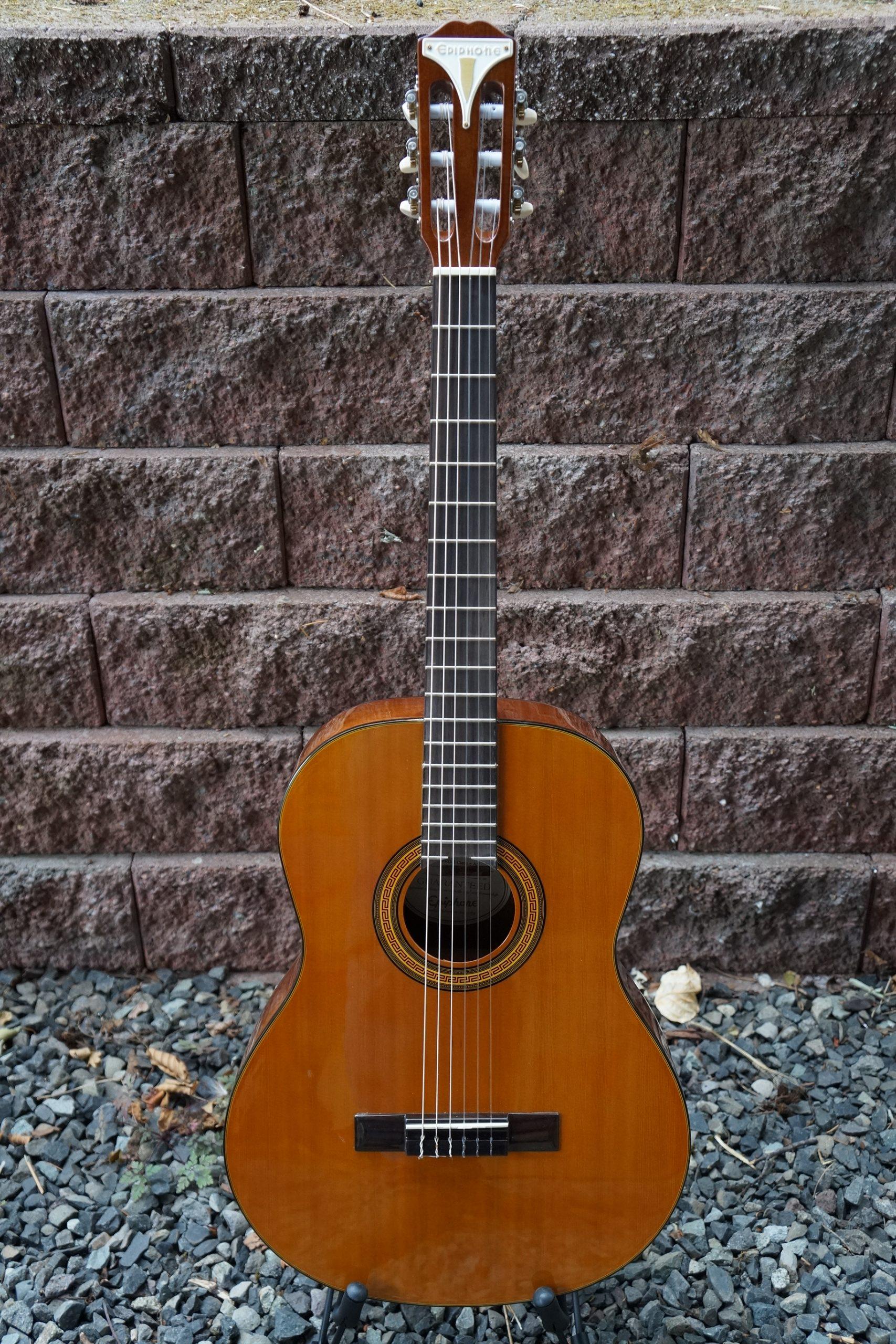 Epiphone Pro-1 Classical Nylon String Guitar (No Strap Lugs)