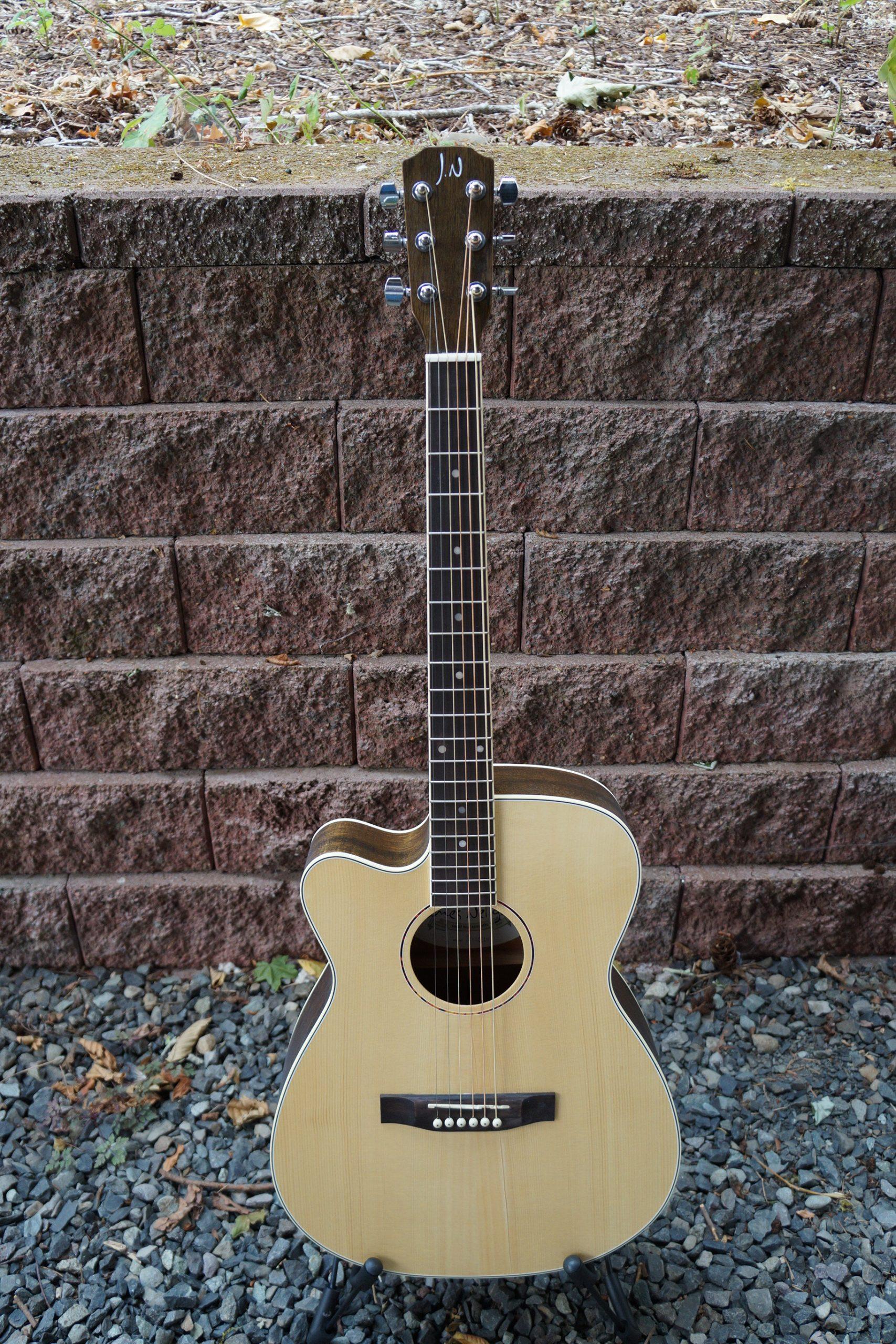 James Neligan ASYLA Series Auditorium Cutaway Acoustic Electric: Left Handed